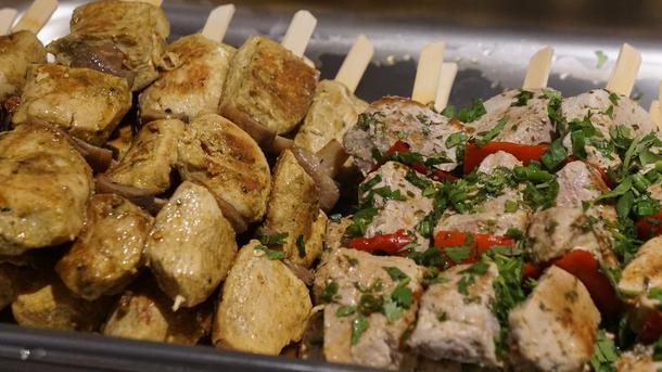Шашлычок из свинины с паприкой-гриль
