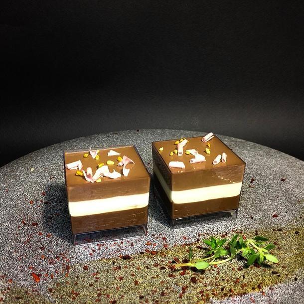 Мусс «Три шоколада» (белый, молочный, горький )