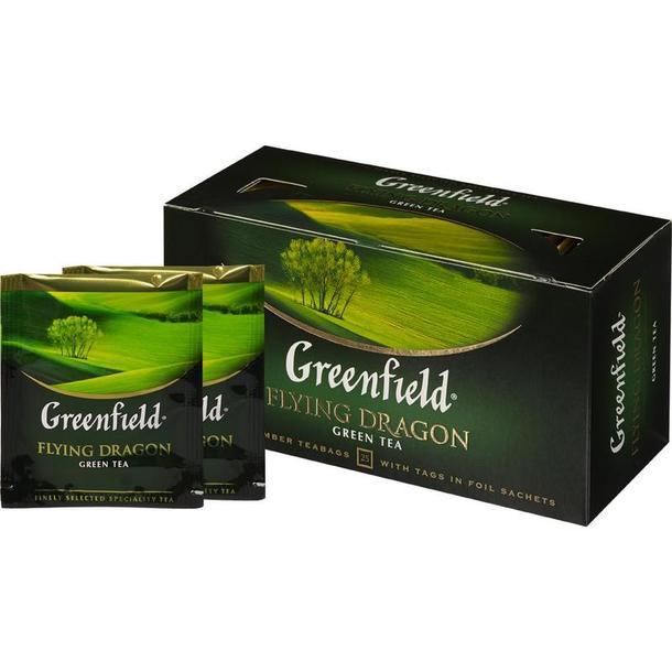 """Чай зеленый """"Гринфилд"""