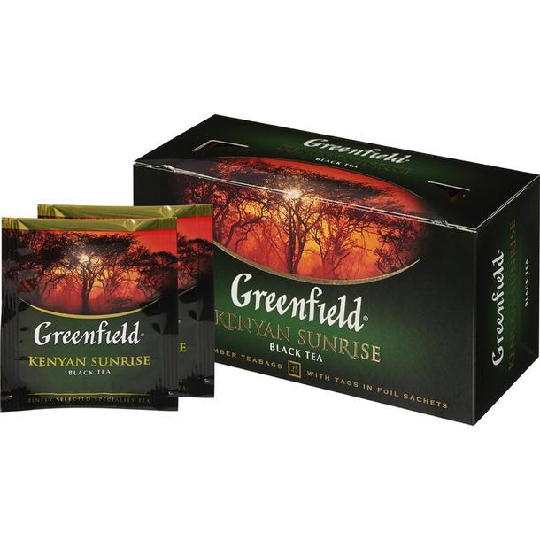 """Чай черный """"Гринфилд"""""""